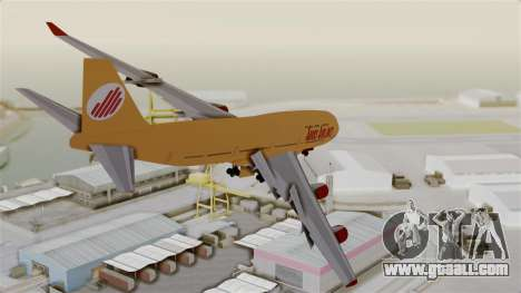 GTA 5 Jumbo Jet v1.0 Adios Airlines for GTA San Andreas right view