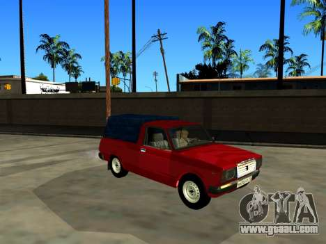 VAZ 2104 Pickup for GTA San Andreas back left view