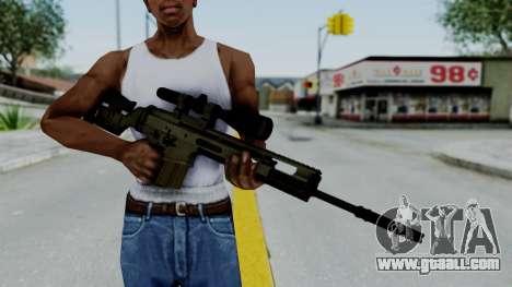 SCAR-20 v2 No Supressor for GTA San Andreas third screenshot