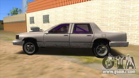 Stretch Sedan Drag for GTA San Andreas left view