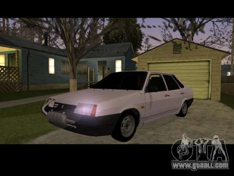 VAZ 21099 Car Without Landing Net for GTA San Andreas