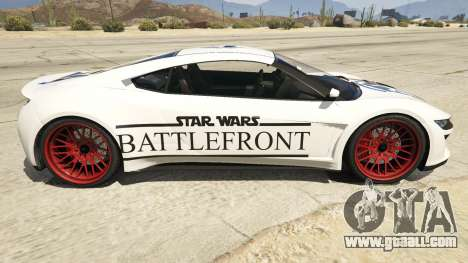 Star Wars Battlefront Jester Race Theme for GTA 5