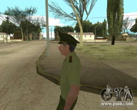Senior warrant officer danyluk for GTA San Andreas sixth screenshot
