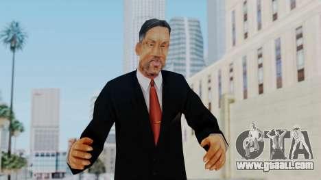 Bully Insanity Edition - Principal Will Smith for GTA San Andreas