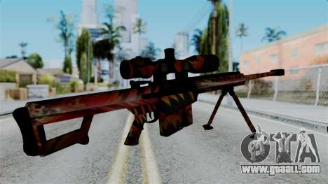 Barret 50.cal Phoenix for GTA San Andreas second screenshot