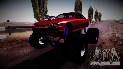 Nissan Silvia S14 Monster Truck for GTA San Andreas