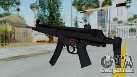 Arma AA MP5A5 for GTA San Andreas second screenshot