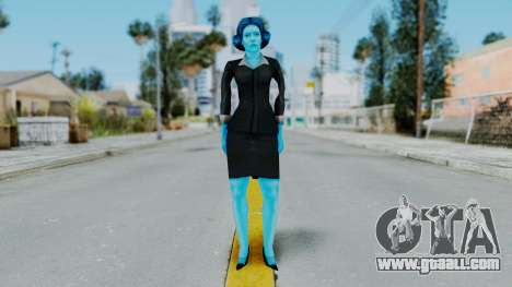 Bully Insanity Edition - Miss Danvers for GTA San Andreas second screenshot
