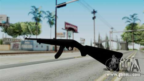 No More Room in Hell - Ruger 10 22 for GTA San Andreas second screenshot