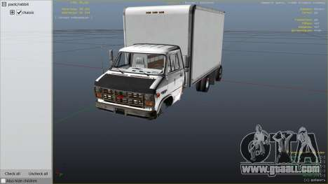 GTA 5 Chevrolet G-30 Cube Truck right side view