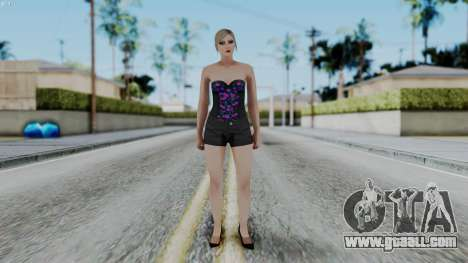 Female Skin 1 from GTA 5 Online for GTA San Andreas second screenshot