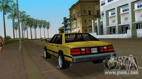 Premier for GTA Vice City back left view