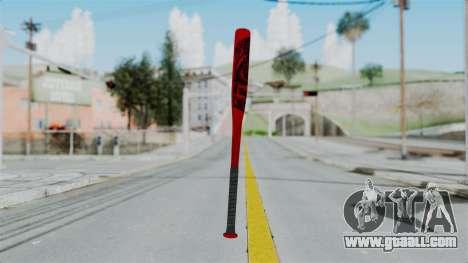 GTA 5 Baseball Bat 2 for GTA San Andreas second screenshot