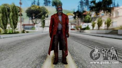 Marvel Future Fight - Star-Lord for GTA San Andreas second screenshot