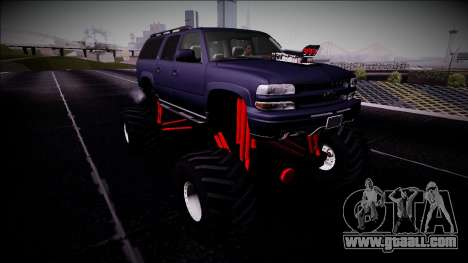 2003 Chevrolet Suburban Monster Truck for GTA San Andreas right view