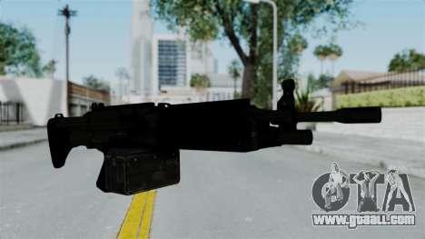 GTA 5 Combat MG for GTA San Andreas second screenshot