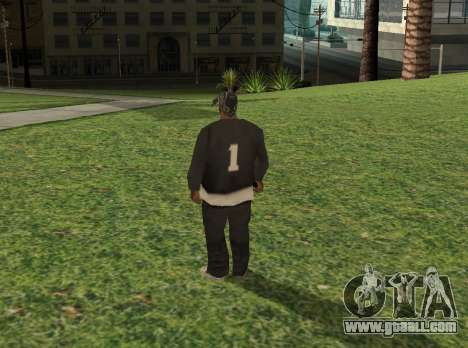 Black fam1 for GTA San Andreas second screenshot