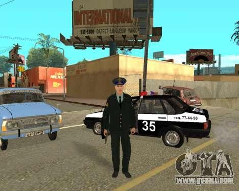 The Skin Is Sergei Glukharev for GTA San Andreas third screenshot