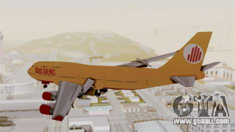 GTA 5 Jumbo Jet v1.0 Adios Airlines for GTA San Andreas left view