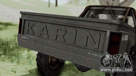 GTA 5 Karin Rebel 4x4 Worn IVF for GTA San Andreas upper view
