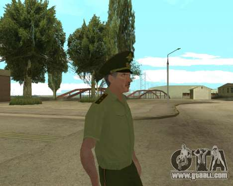 Senior warrant officer danyluk for GTA San Andreas forth screenshot