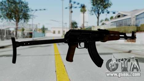 New HD AK-47 for GTA San Andreas second screenshot