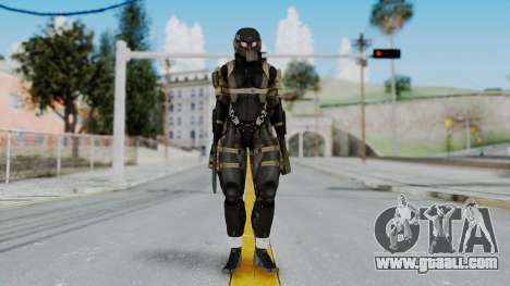Frog from Metal Gear Solid 4 for GTA San Andreas second screenshot