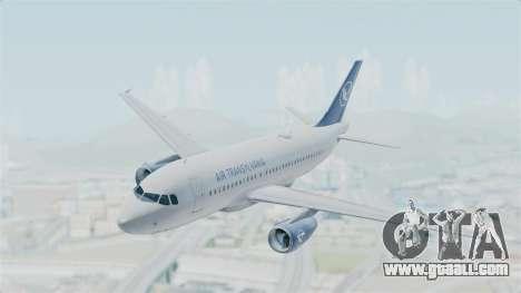 Airbus A319 Air Transylvania for GTA San Andreas