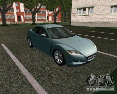 Mazda RX-8 for GTA San Andreas left view