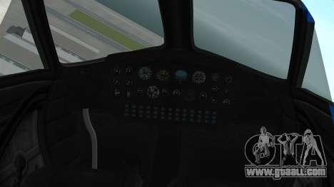 GTA 5 Vestra for GTA San Andreas right view