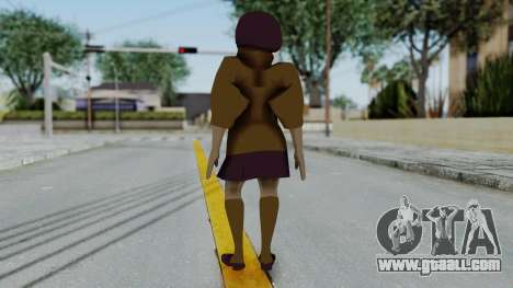 Scooby Doo Velma for GTA San Andreas third screenshot