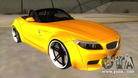 BMW Z4 Liberty Walk Performance for GTA San Andreas back view