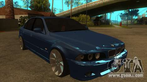 BMW M5 e39 for GTA San Andreas back view