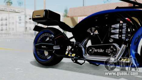 Turbike 4.0 for GTA San Andreas right view
