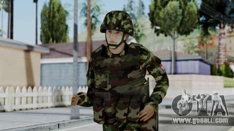 Srpski Vojnik 1999 for GTA San Andreas