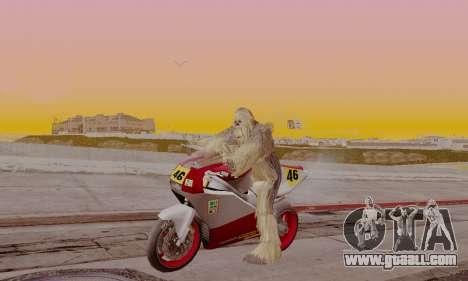Chewbacca for GTA San Andreas second screenshot