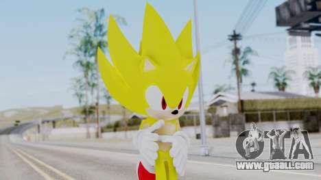 Super Sonic The Hedgehog 2006 for GTA San Andreas