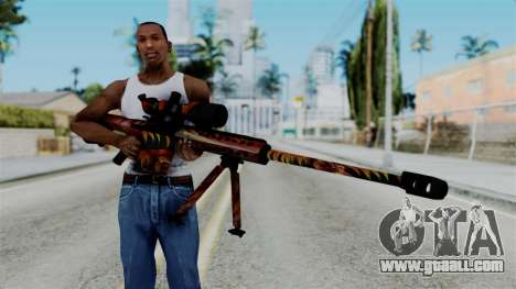 Barret 50.cal Phoenix for GTA San Andreas third screenshot