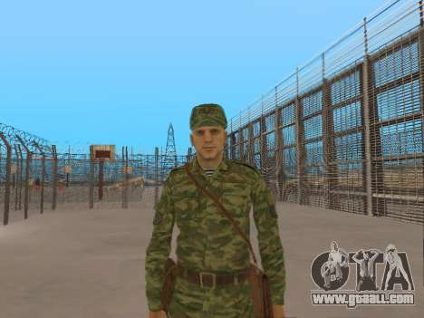 The airborne soldier for GTA San Andreas