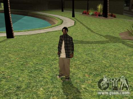 Black fam2 for GTA San Andreas
