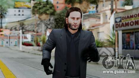 John Wich without Glasses - Payday 2 for GTA San Andreas third screenshot