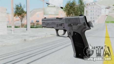 Sig Sauer P226 for GTA San Andreas second screenshot