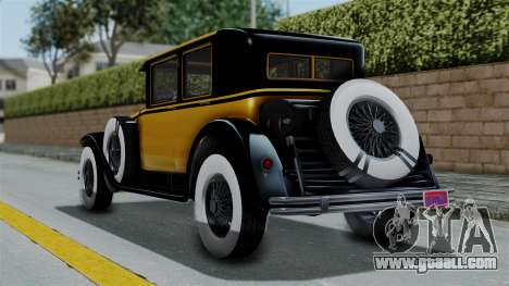 GTA 5 Albany Roosevelt Valor IVF for GTA San Andreas left view