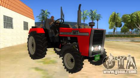 IMT Traktor for GTA San Andreas back view