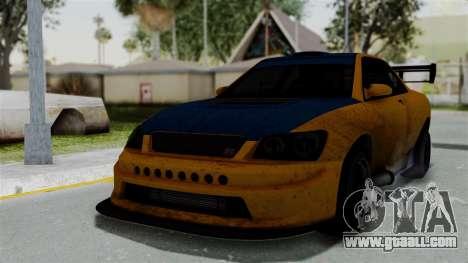GTA 5 Karin Sultan RS Drift Big Spoiler for GTA San Andreas