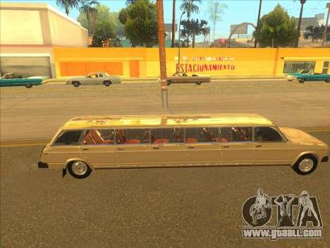 VAZ 2104 13-door for GTA San Andreas back view