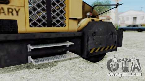 Armored School Bus for GTA San Andreas back left view