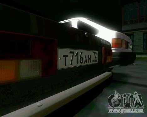 VAZ 2107 Hobo for GTA San Andreas back view