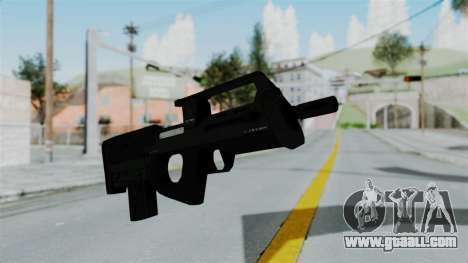 GTA 5 Assault SMG for GTA San Andreas second screenshot