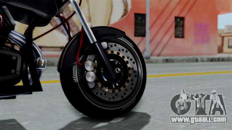 Turbike 2.0 for GTA San Andreas back left view